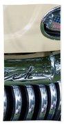 1952 Buick Eight Grill Beach Towel