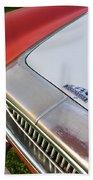 1952 Cunningham C-3 Vignale Cabriolet Grille - Hood Emblem Beach Towel