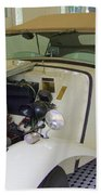 1952 Mg Roadster Beach Towel