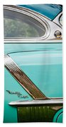 1952 Oldsmobile 98 Holiday Hardtop Side Emblem -1454c Beach Towel