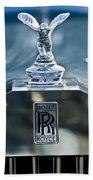 1952 Rolls-royce Hood Ornament Beach Sheet