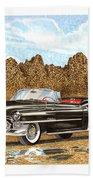 1953 Cadillac Eldorado Biarritz Beach Towel