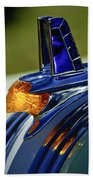 1953 Pontiac Hood Ornament 3 Beach Towel by Jill Reger