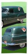 1953 Pontiac Panel Delivery Beach Towel