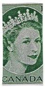 1954 Canada Stamp Beach Towel