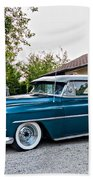 1954 Chevrolet Bel Air Beach Towel