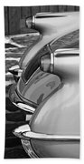 1954 Chevrolet Corvette Taillights -304bw Beach Towel