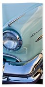 1954 Lincoln Capri Headlight Beach Towel
