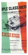 1954 Xxi Mille Miglia Beach Towel
