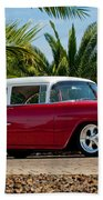 1955 Chevrolet 210 Beach Towel