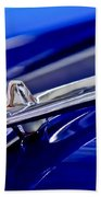 1955 Desoto Hood Ornament 3 Beach Towel