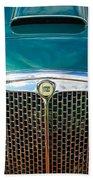 1955 Lancia Aurelia B24 Spyder America Roadster Grille -0278c Beach Towel