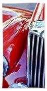 1955 Mg Tf 1500 Grille Beach Towel