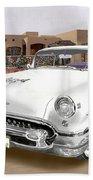 1955 Oldsmobile Super 88 Beach Towel