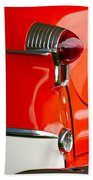 1955 Oldsmobile Taillight Beach Towel by Jill Reger