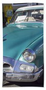 1955 Studebaker Coupe 1 Beach Towel