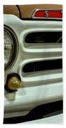 1955 Studebaker Headlight Grill Beach Towel