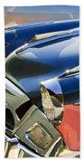 1955 Studebaker President Front End Beach Towel