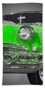 1956 Buick Special Riviera Coupe-green Beach Towel