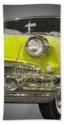 1956 Buick Special Riviera Coupe-yellow Beach Towel