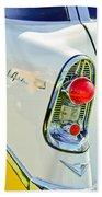 1956 Chevrolet Beliar Nomad Taillight Emblem Beach Towel