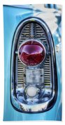 1956 Chevy Bel-air Taillight  Beach Towel