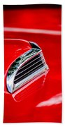 1956 Ford Thunderbird Hood Scoop -287c Beach Towel