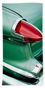 1956 Oldsmobile 98 Taillight Beach Towel