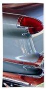 1956 Oldsmobile Taillight Beach Towel
