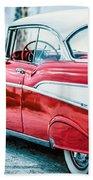 1957 Chevy Bel Air Beach Towel