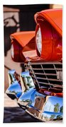1957 Ford Fairlane Grille -205c Beach Towel