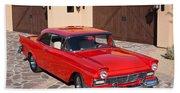 1957 Ford Fairlane Beach Towel
