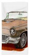 1957 Thunderbird Beach Towel