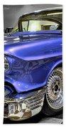 1958 Cadillac Deville Beach Towel