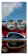 1958 Corvette Beach Towel