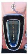 1958 Edsel Pacer Grille Emblem Beach Towel