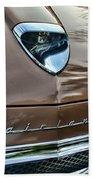 1958 Ford Fairlane 500 Skyliner Beach Towel
