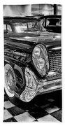 1958 Lincoln Continental Mk IIi Beach Towel