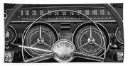 1959 Buick Lasabre Steering Wheel Beach Towel