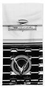 1959 Buick Lesabre Convertible Grille Emblems Beach Towel