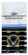 1959 Buick Lesabre Hood Ornament Beach Towel