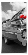 1959 Cadillac Tail Fins Beach Towel