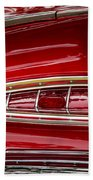 1959 Chevrolet Taillight Beach Towel