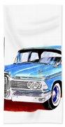 1959 Ford Edsel Ranger 4-door Sedan Beach Towel