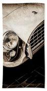 1960 Ac Aceca Grille Emblem -0058s Beach Towel