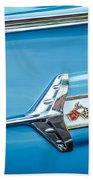 1960 Chevrolet Impala Emblem -340c Beach Towel