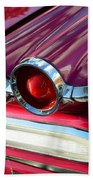1960 Jet Engine Styling Beach Towel