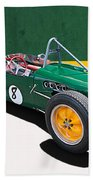 1960 Lotus 18 Fj Beach Towel