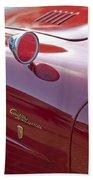 1961 Alfa Romeo Giulietta Sprint Speciale Emblem Beach Towel