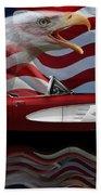 1961 Corvette Tribute Beach Towel